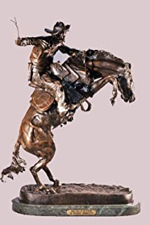 the bronco buster statue