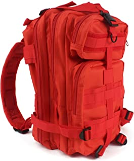 """MediTac Tactical Assault Pack - First Aid Rucksack - 18"""" Military MOLLE Backpack"""