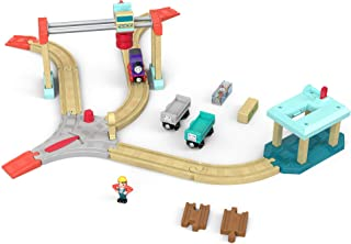Thomas & Friends Fisher-Price Wood, Lift & Load Cargo Set