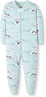 Moon and Back by Hanna Andersson Baby Organic Footless Pajama-Holiday Family Matching