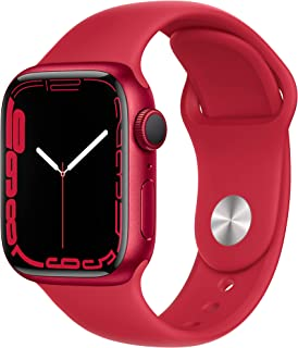 Apple Watch Series7 (GPS, 41mm) - (PRODUCT)RED Aluminium Case, (PRODUCT)RED Sport Band