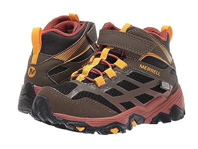 Merrell Kids M-Moab FST Mid A/C Waterproof (Little Kid/Big Kid) (Gunsmoke) Boys Shoes