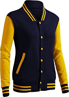 Women's Casual Jacket Baseball Button Jacket