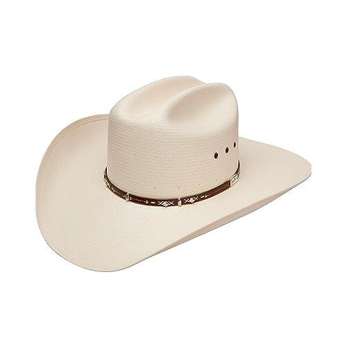 Resistol Men s George Strait Hazer 10X Shantung Straw Cowboy Hat 0e8ee0a6f29d