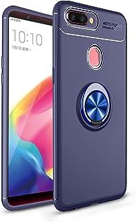 جراب XINKO لهاتف Oppo R11S Plus، مصنوع من البولي كربونات والبولي يوريثان اللدن بالحرارة 2 في 1 رفيع للغاية بتصميم حلقي [نح...