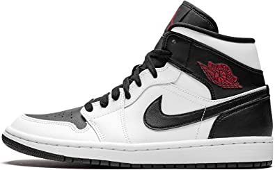 Nike WMNS Air Jordan 1 Mid, Baskets Hautes Femme : Amazon.fr ...