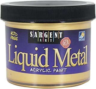 طلاء أكريليك معدني سائل 22-1281 من سارجنت آرت، ذهبي