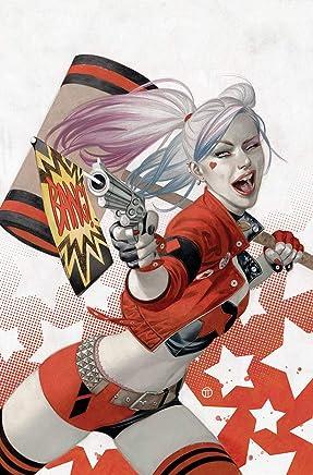 Harley Quinn Batman Keychain Key Chain Tag Engraved Silver Tone Metal KEN-0003