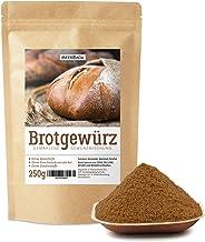Brotgewürz bayerische Art • 250g Brotgewürzmischung mit Kümmel, Fenchel und Koriander • herzhafte Gewürzmischung für Brot • reines Naturprodukt • ohne Salz und künstliche Zusätze