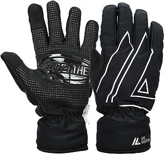 [ラドウェザー] 防寒グローブ 防寒手袋 防水 防風 スマホ操作 バイク スキー メンズ手袋