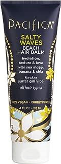 Pacifica Beauty Salty Waves Beach Hair Balm, 4 Fluid Ounce