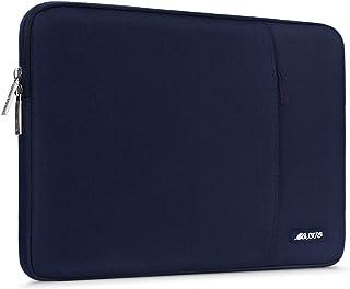 MOSISO Funda Protectora Compatible con 2020-2018 MacBook Air 13 Retina A2179 A1932/MacBook Pro 13 A2251 A2289 A2159 A1989 A1706 A1708, Bolsa Blanda de Repelente de Agua de Estilo Vertical,Azul Marino