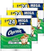 Charmin Ultra Gentle Toilet Paper, 18 Mega Rolls (Equal to 72 Regular Rolls) (Pack of 3)