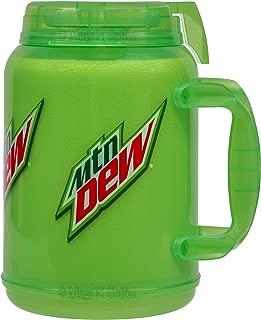 64 oz Mountain Dew Mug - Large Green Mountain Dew Travel Mug