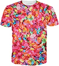 RageOn Cereal Killers Fruity Pebbles Premium All Over Print T-Shirt