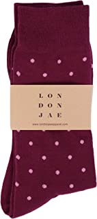 Best burgundy dress socks Reviews