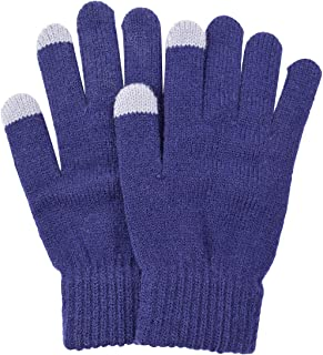 BODY STRENTH Womens' Magic Gloves Cashmere Touch Screen Knit Winter Warm