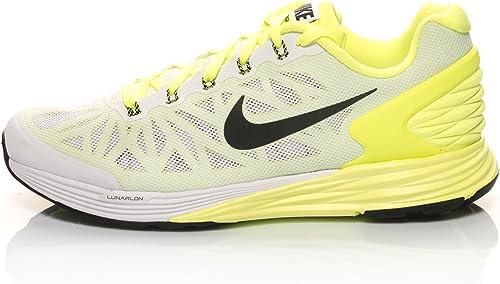Nike Hausschuhe Lunarglide 6 (GS) Weiß Lima EU 38