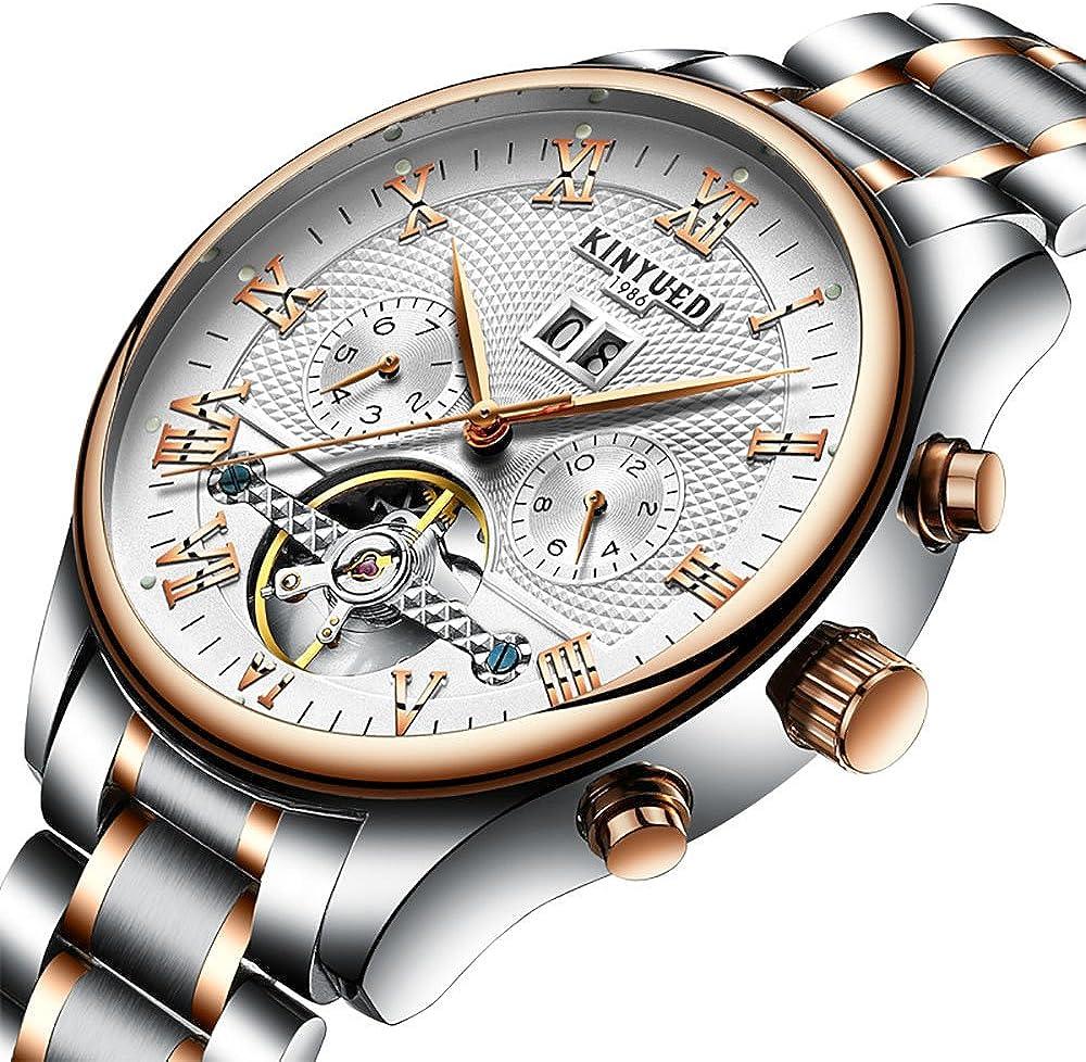 TIDOO Mens Luminous Business Max 88% OFF Portland Mall Casual Watch Silver Quartz Wrist Di