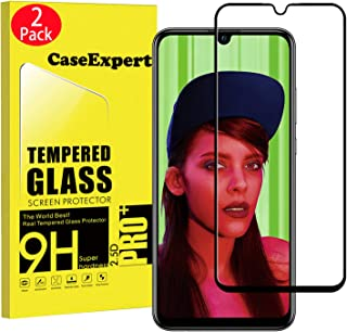 CaseExpert 2-pack - Huawei P Smart+ 2019 härdat glas, härdat glas kristallklart skärmskydd skydd och poleringsduk för Huaw...