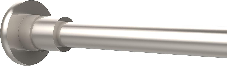 Allied Brass 1099-SN Shower Curtain Rod Brackets Satin Nickel