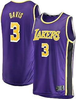 ZHILIN Angeles Basketball-Weste, Uniformen, lila Anthony-Jersey, Training, coole Sport-Laker, ärmellos, Davis Los Jersey