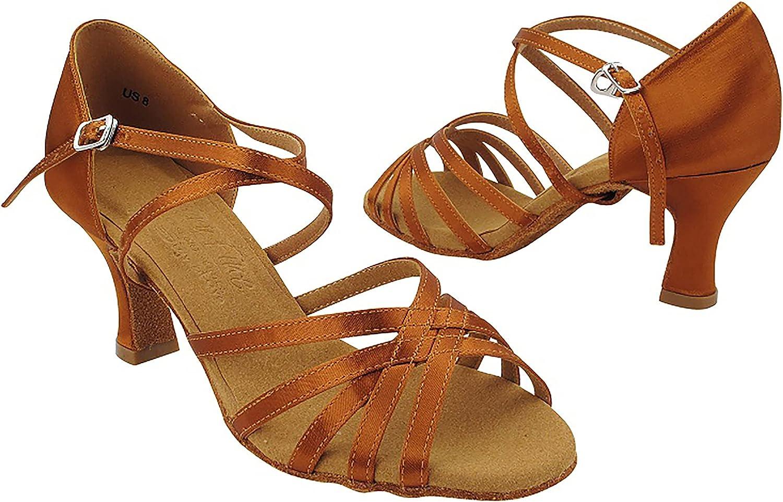 Very Fine Women's Elektra Salsa, Latin, Tango, Ballroom, Waltz Dance Shoe