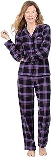 Womens Pajama Sets Flannel - Cozy Ladies Pajamas