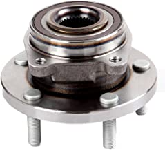 ECCPP Front Wheel Hub Bearing Assembly 5 Lugs w/ABS for 08-14 Dodge Chrysler Compatible with 513263 HA590219
