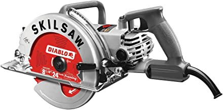 Skilsaw 8-1/4 Inch High Torque Motor Aluminum Worm Drive Saw with Diablo Blade