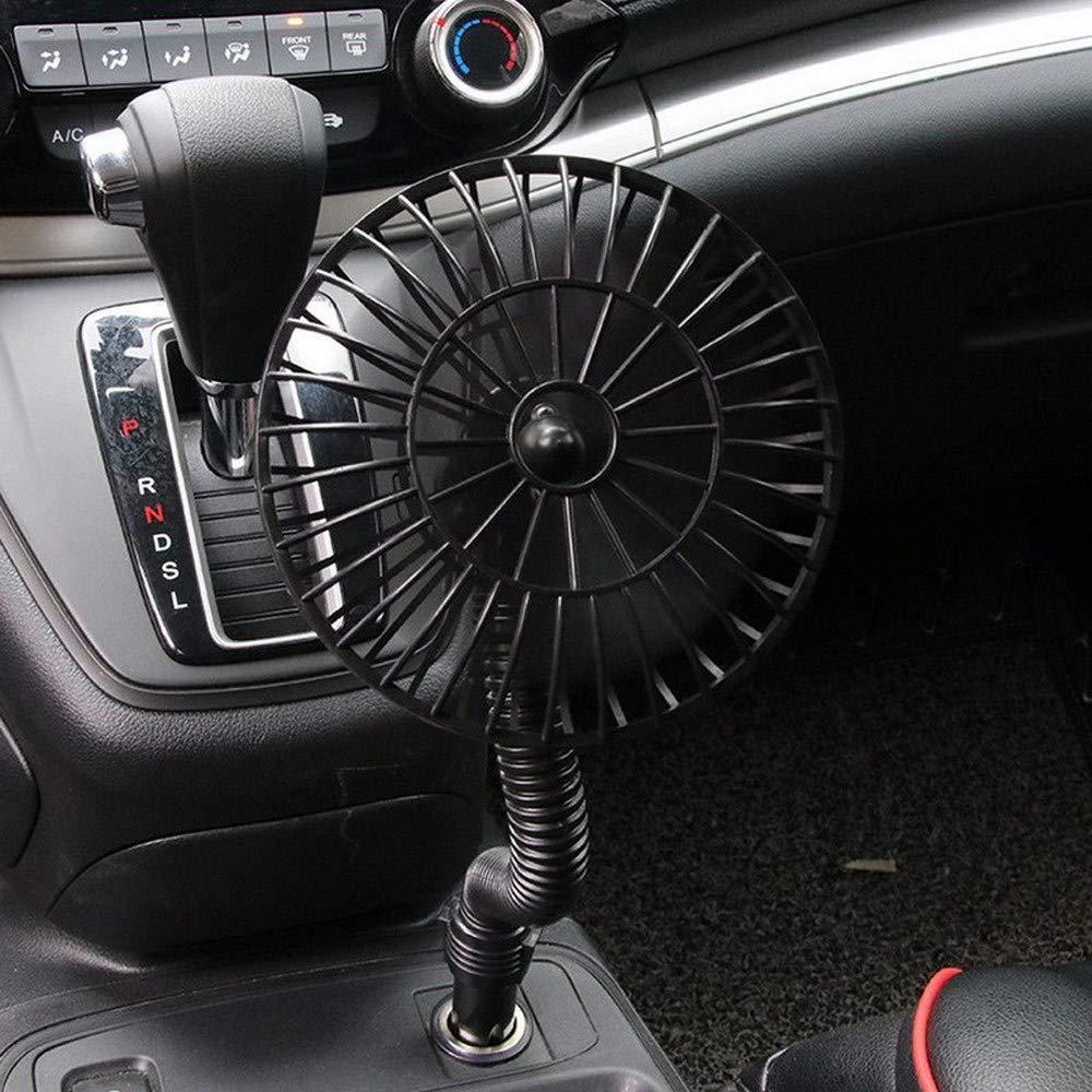 FAJIE - Ventilador eléctrico para coche con enchufe para ...