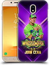 Official WWE John Cena Wrestlemania 34 Superstars Hard Back Case Compatible for Samsung Galaxy J7 2017 / Pro
