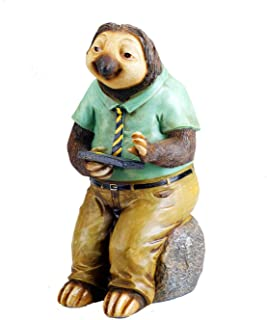 Sloth with Solar Lights Garden House Outdoor Decor by Bo Toys