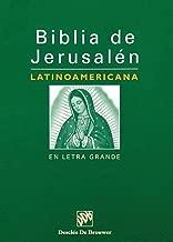 Biblia de Jerusalén Latinoamericana en Letra Grande (Spanish Edition)