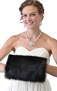 Tion Design Women's Faux Fur Handmuff