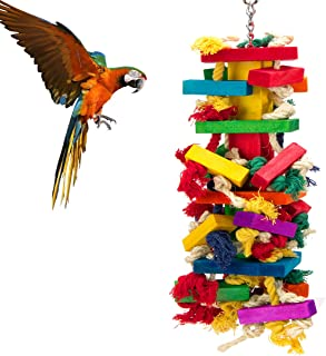 large parrot toys