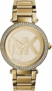 Michael Kors Women's Quartz Watch, Analog Display and Stainless Steel Strap MK5784