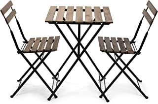 EventStable French Bistro Folding Table and Chair Set