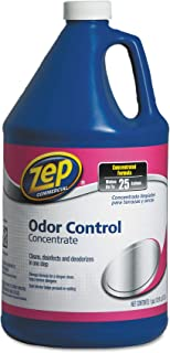 Zep Commercial 1041718 Odor Control, 128 oz, Lemon, Bottle