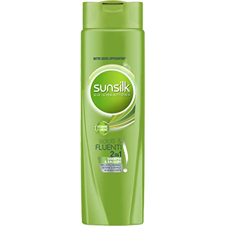 SUNSILK Sciolti & Fluenti Shampoo 2in1, 250 ml
