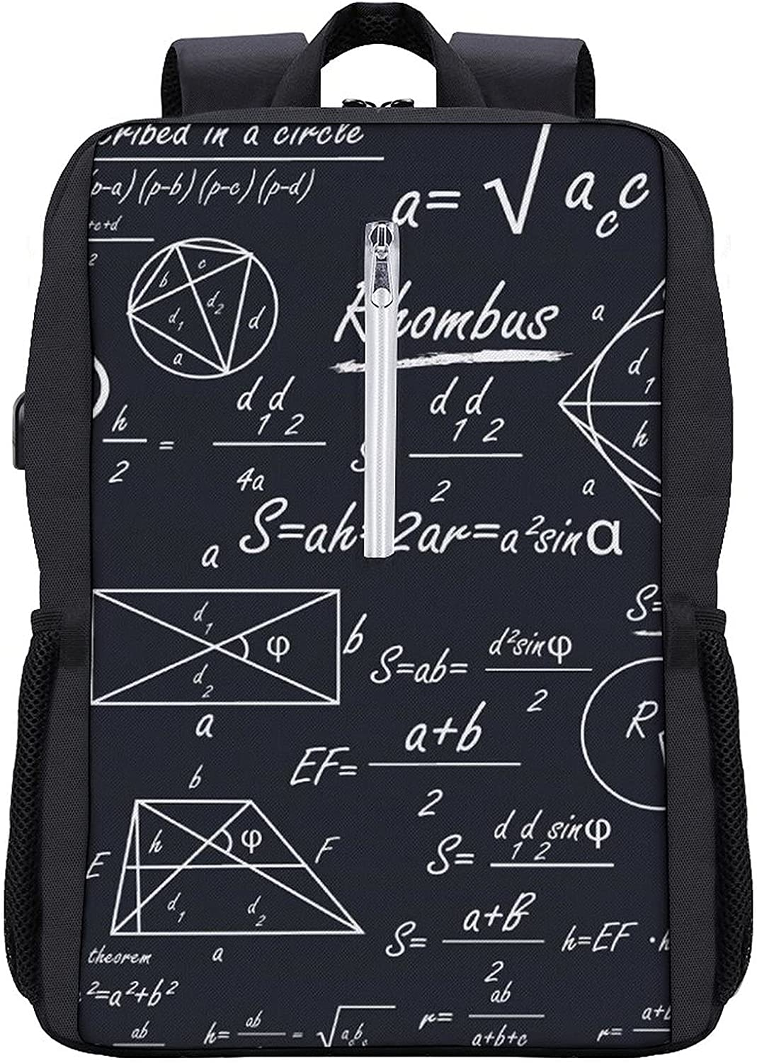 Mathematical Geometric Shapes Travel Durabl Laptop Cheap Sale special price mail order shopping Slim Backpack