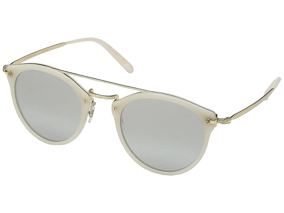 Oliver Peoples Remick (Ecru/Gold) Fashion Sunglasses