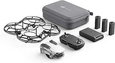 DJI Mavic Mini Combo - Drone FlyCam Quadcopter UAV with 2.7K Camera 3-Axis Gimbal GPS 30min Flight Time, less than 0.55lbs...