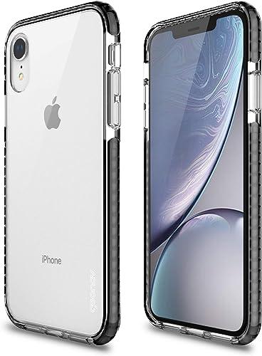 Capa protetora Impact Pro iPhone XR, TPU flexível nas extremidades e ajuda na absorção de impactos, Transparente/Pret...