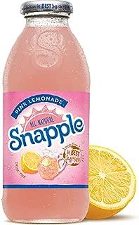 Snapple - Pink Lemonade - 16 fl oz (24 Plastic Bottles)