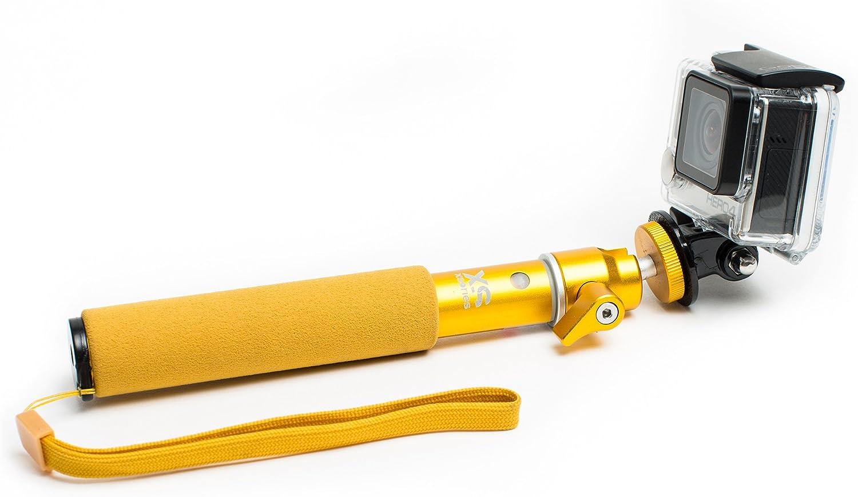Atlantic Blue XSories U-SHOT Selfie Handheld Stick Extendable Integrated Pole Monopod with Tripod Mount
