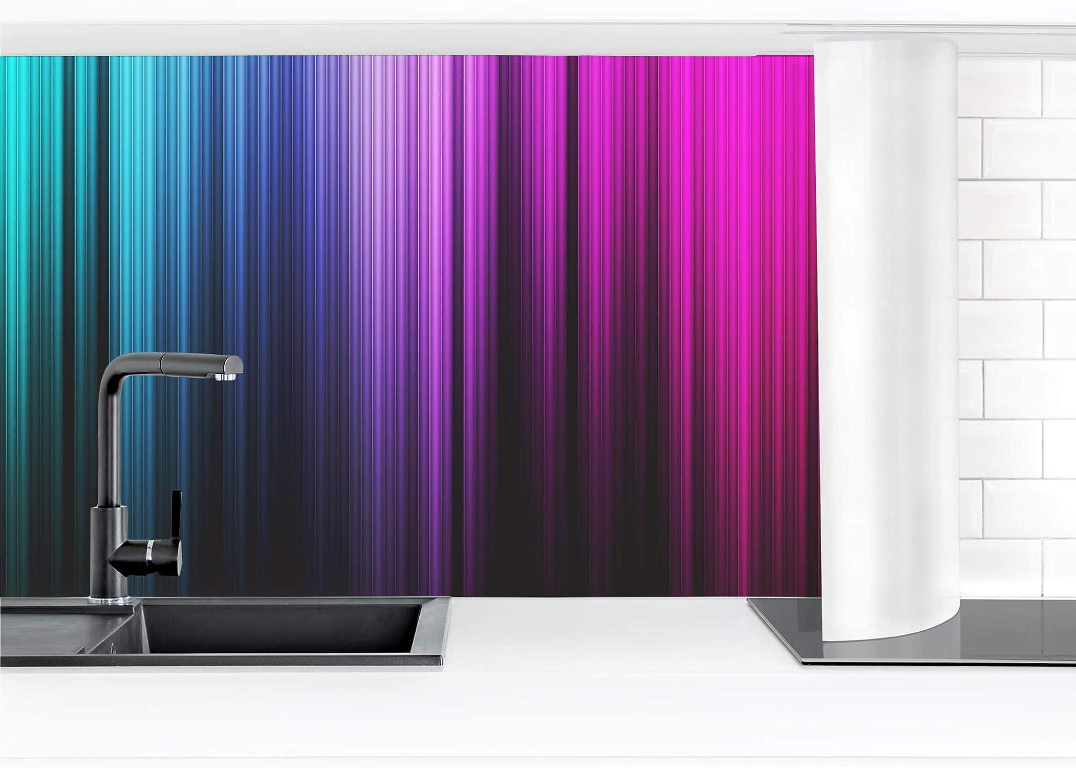 Esperando por ti Bilderwelten Bilderwelten Bilderwelten Lámina Adhesiva para la Parojo de la Cocina - Rainbow Display 60 x 100 cm Premium  Disfruta de un 50% de descuento.