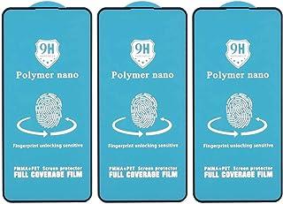 شاشة حماية نانو بوليمر 9H لموبايل اوبو رينو2 Z من دراجون، 5.5 بوصة، 3 قطع - اسود