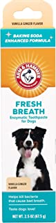 Arm & Hammer Dog Dental Care Fresh Breath Enzymatic Toothpaste for Dogs   No More Doggie Breath   Safe for Puppies, Clinic...