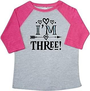 inktastic 3rd Birthday 3 Year Old Arrow Toddler T-Shirt